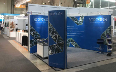 Borough exhibiting at the Automotive Interiors Expo in Stuttgart